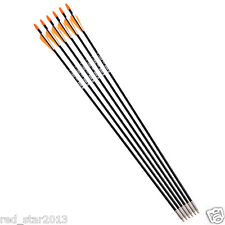 X6 80CM 7mm Archery Fiberglass Target Practice Hunting Arrows F Recurve Bow