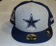 NWT NFL NEW ERA CUSTOMIZER 5950 FITTED CAP HAT - DALLAS COWBOYS SIZE 7 5/8