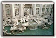 Trevi Fountain Rome Fridge Magnet
