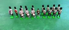 W. Britain Grenadier Guards Drum and Fife Band Set 41175 17 54mm Metal Figures