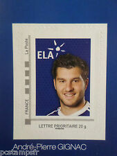 FRANCE 2010 timbre COLLECTOR GIGNAC FOOTBALL SPORT ADHESIF neuf**, MNH STAMP