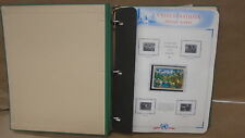 United nations postage stamps 1991-1994 new york geneva vienna on white ace page