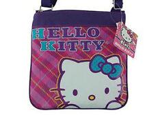 Shoulder Bag Preppy Passport Purse Sanrio HELLO KITTY Face Pink Purple NEW