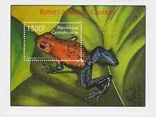 Central African Republic - Reptiles, Frogs, 2001 - Sc 1397 S/S MNH