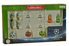 NEW CHAMPIONS LEAGUE SUBBUTEO ACCESSORY SET. PAUL LAMOND TABLE SOCCER. FOOTBALL