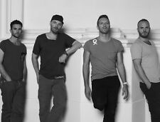 Coldplay UNSIGNED photo - D499 - Chris Martin, Guy Berryman & Jonny Buckland
