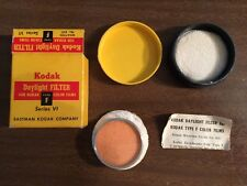 Vintage Kodak Series VI Daylight Filter for Color Film Type F #85C Wratten w/Box