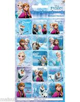 Paper Projects Disney Frozen Well Done Fun Foiled 15 x Rewards Stickers