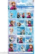 Paper Projects Disney Frozen Well Done Fun Foiled 15 x Reusable Reward Stickers