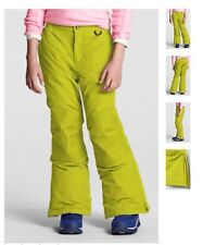 New LAND'S END Size: 6 Little Girl Waterproof Snow, Ski pants. Лыжные брюки