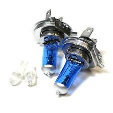 FIAT PANDA 169 H4 501 100W SUPER WHITE XENON Alto / Basso / LED Laterali Lampadine