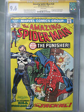 Amazing Spider-Man #129 CGC 9.6 SS **Signed Romita & Stan Lee** 1st Punisher