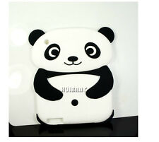 Lovely Cartoon Soft Silicone Panda Case Cover for iPad 2/3/4 Kids Xmas Gifts