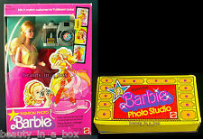 Fashion Photo Barbie Doll Classic 1977 # 2210 & Superstar Photo Studio Lot 2