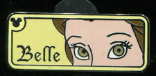 WDW Hidden Mickey 2007 2 Rear View Mirror Belle Disney Pin 58972