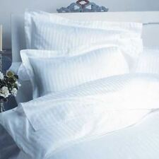 SUPER KING SIZE DUVET SET WHITE STRIPE 800 THREAD COUNT 100% EGYPTIAN COTTON