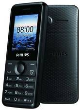 Philips E103 (Black),Dual Sim,Camera 1.2 MP,Battery 1050mAh
