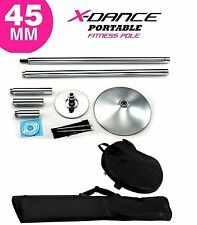 45mm Professional Exotic Removable Pole Dance Exercise Fitness + 2 Carry Bag