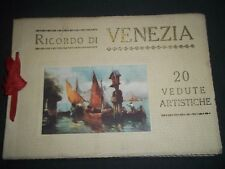 EARLY 1900S RICORDO DI VENEZIA 20 VEDUTE ARTISTICHE - COLOR PLATES - II 3941
