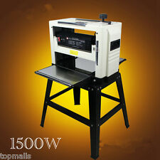 """Professional 12-1/2"""" Woodworking Thickness Planer 1500W 220V Tables& Knives"""