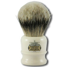 Simpsons Chubby 2 Super Badger Hair Shaving Brush with Cream Handle