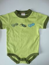 NWT GYMBOREE BABY BOY 3-6 MONTHS ONE PIECE BODYSUIT TROPICAL TREK LIZARDS GECKO
