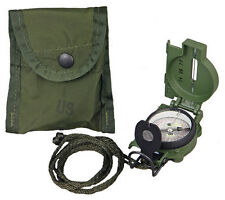 Military Tritium Lensatic Compass Model 3H Cammenga (OLIVE DRAB) US Army Issue
