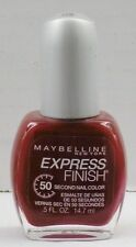 Maybelline Express Finish 50 Second Nail Color - Crimson #170