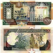 Somalia Note :- 50 Shillings 1991 Bank Note Currency UNC   #551