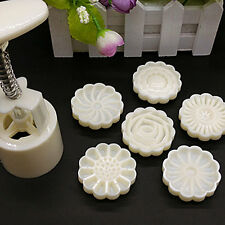 3D Mid-Autumn Festival Pressure Mooncake Mold Cookie Cutter Bakeware Tool