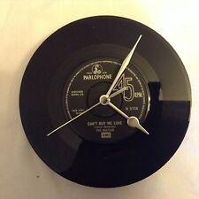 THE BEATLES OROLOGIO VINTAGE ORIGINALE 7 inch record COMPLEANNO Padre's Giorno Regalo