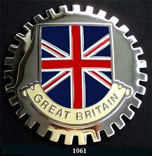 CAR GRILLE EMBLEM BADGES - GREAT BRITAIN(FLAG)