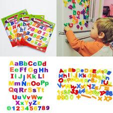 78x Buchstaben oder Zahlen ABC Magnet Buchstaben Set Alphabet Kinder Spielzeug