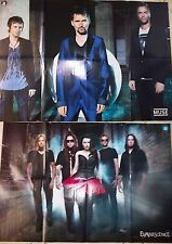 MUSE @ EVANESCENCE_ poster originale double face_ anno 2011_cm 82x57
