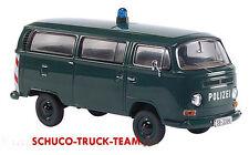 """VW T 2a  BUS 1:43 """" POLIZEI """"  STT03222  SCHUCO"""