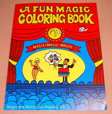 Fun Magic Coloring Book, Large 8.5 x 11, Easy and Colorful Magic (1728)