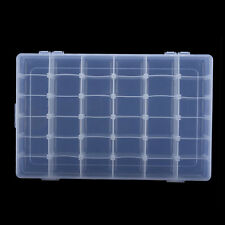 36 Slots /Compartments Adjustable Plastic Beads Jewellery Organizer Storage Box