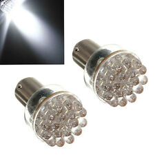 2x 1157 BAY15D P21/5W 24 Led SMD Car Brake Stop Rear Light Lamp Bulb White NEW