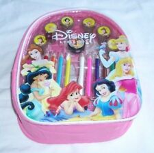 Disney Princess Licensed Backpack Color Pencil Self Inking Stampers Art Set  ��