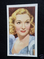 """ MY FAVOURITE PART ""  FILM STAR- FLORENCE DESMOND - GALLAHER CARD-1939 -#6"