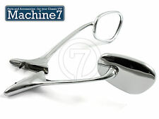 Classic VW Beetle Swan Neck Chrome Accessory Mirrors Resto Cal Style Vintage Bug