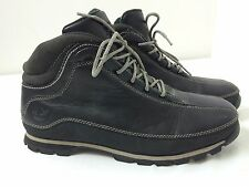 Timberland ACT Black Leather Lace Up Hiking Ankle Boots 85150 Men's Size 9.5 men