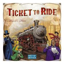 Ticket to Ride Board Game Cross-Country Train Adventure Days of Wonder CHOP