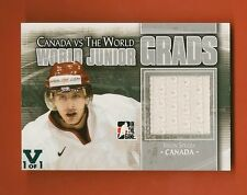 JASON SPEZZA - 2015-16 ITG Final Vault #d 1/1 2011-12 ITG Canada vs World Jersey