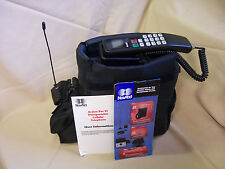 VINTAGE NOVATEL ACTION PAC VI CELLULAR TELEPHONE CAR BAG CELL PHONE