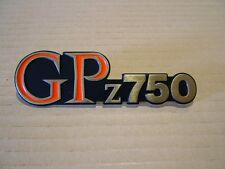 KAWASAKI GPz 750 '82,    SIDE COVER BADGE NEW REPRODUCTION