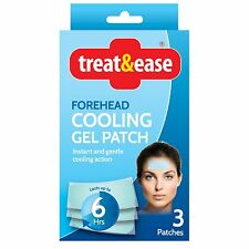 Treat and Easy fore head cooling gel pad
