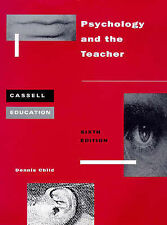 Psychology and the Teacher by Dennis Child (Paperback, 1997)