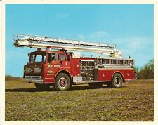 Fire Equipment Brochure - Snorkel - Tele Squrt Photo - Raytown District (DB65)