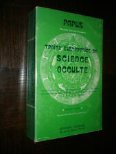 TRAITE ELEMENTAIRE DE SCIENCES OCCULTES - Papus